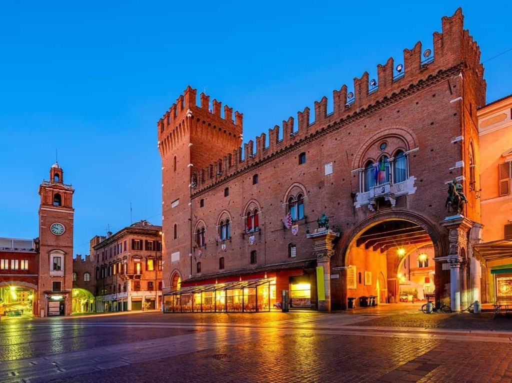 Weekend per single a Ferrara